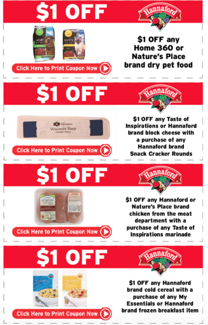 Hannaford coupons
