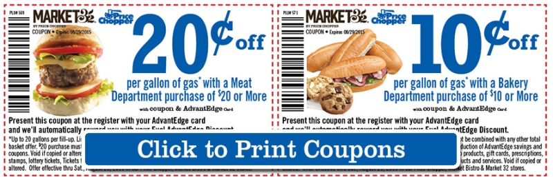 Price Chopper gas coupons
