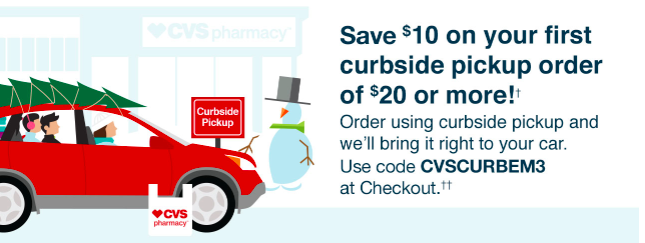 CVS curbside