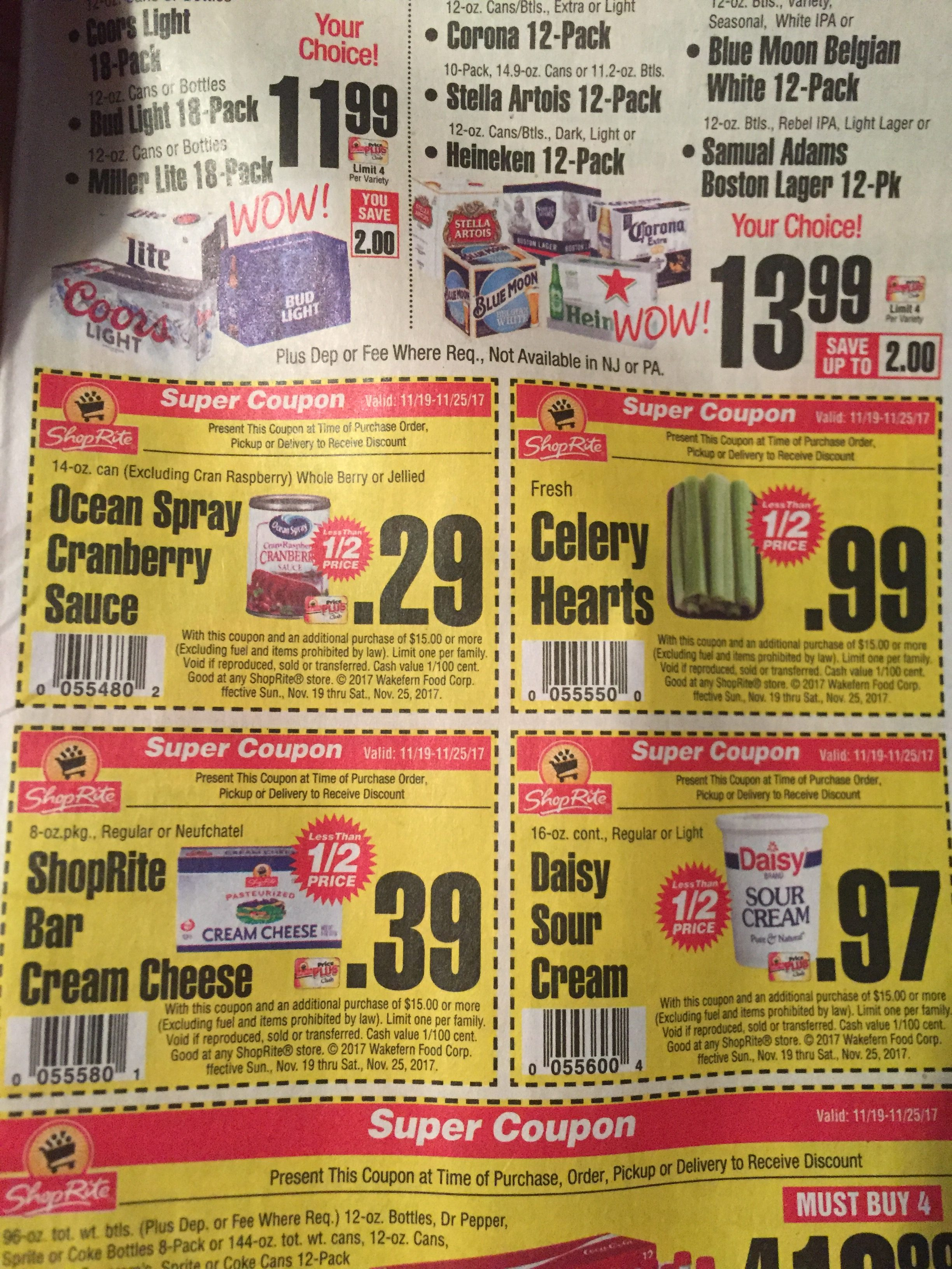 Food coupons today